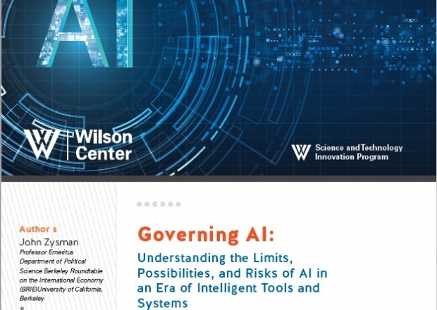 Cover of Governing AI paper