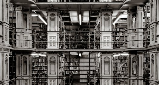 An image of a library.