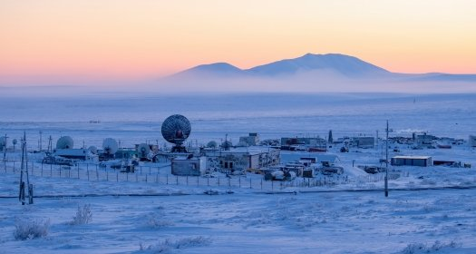 Arctic science research station pic