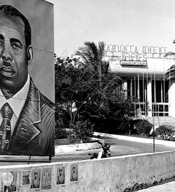 Siad Barre, Somali leader and one-time ally of the Soviet Union