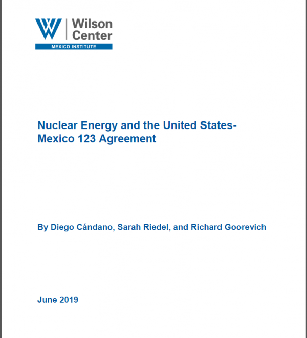 Nuclear Energy and the United States-Mexico 123 Agreement