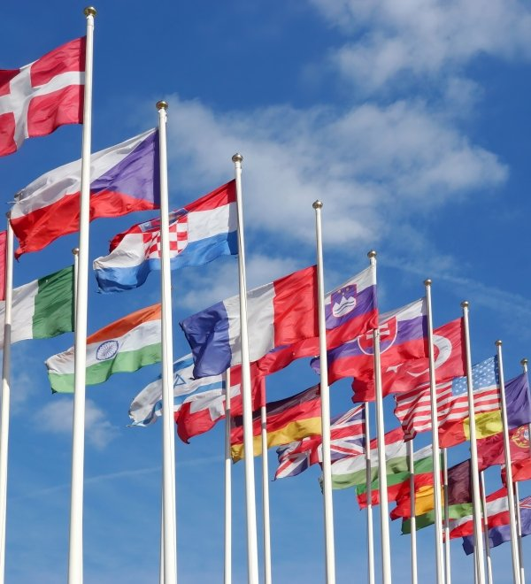 flags countries international relations