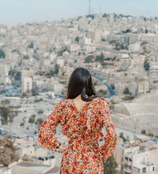 Woman in Amman