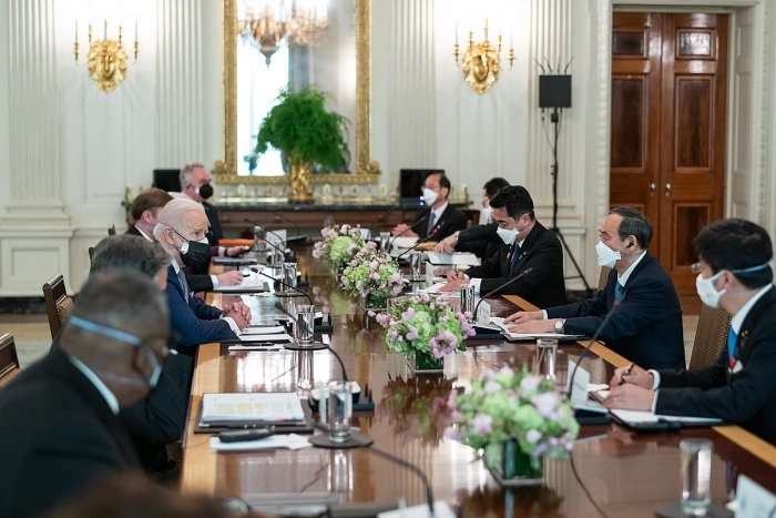 President Biden hosted Japanese Prime Minister Suga during his first foreign leader visit