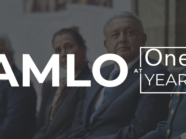 AMLO at One Year