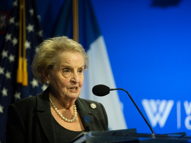 The Inaugural Haleh Esfandiari Forum Event with Secretary Madeleine Albright