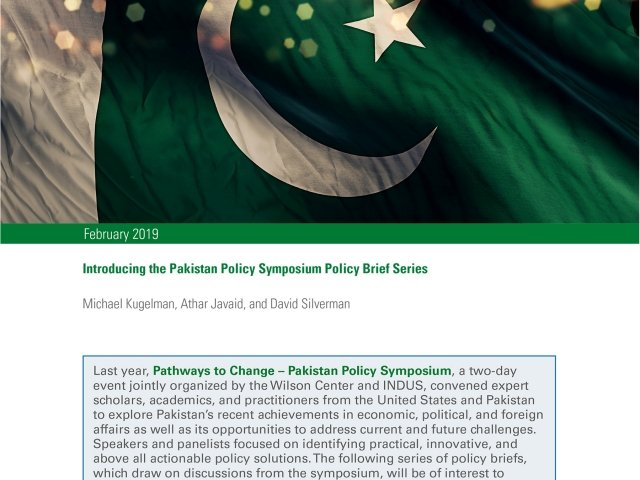 Introducing the Pakistan Policy Symposium Policy Brief Series