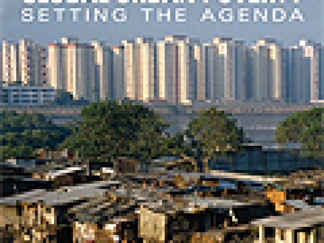Global Urban Poverty: Setting the Agenda