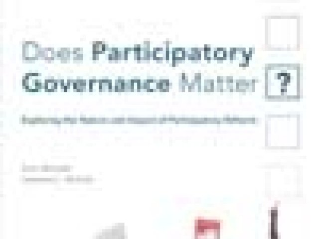 Does Participatory Governance Matter?