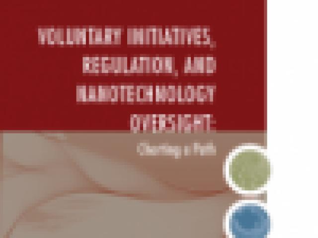PEN 19 - Voluntary Initiatives, Regulation, and Nanotechnology Oversight