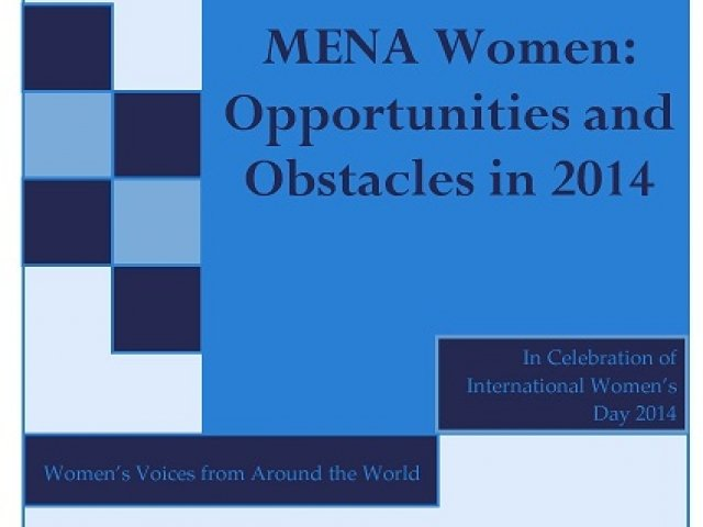 MENA Women: Opportunities and Obstacles in 2014