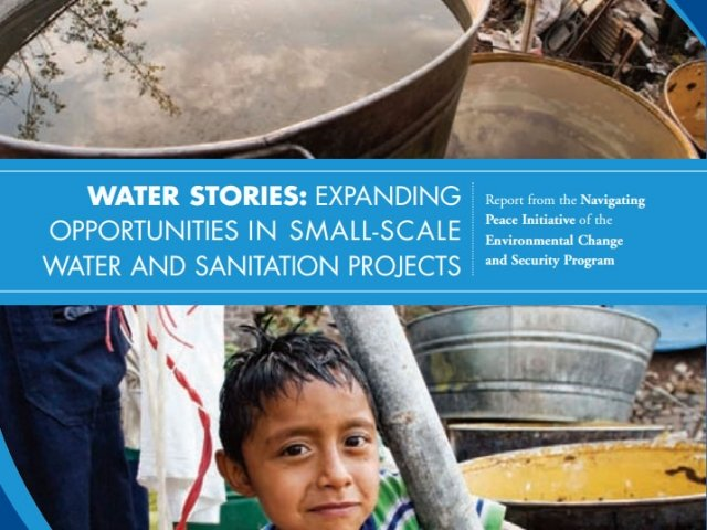 Water Stories: Expanding Opportunities in Small-Scale Water and Sanitation Projects