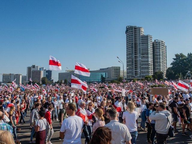 Belarusian protests — Minsk, 23 August - 2020