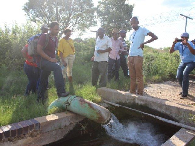 Groundwater field work Ramotswa Aquifer