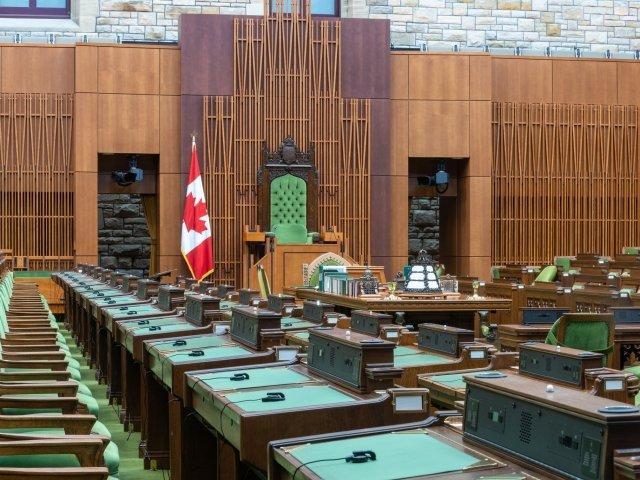 Canadian Parliament Speaker Seat