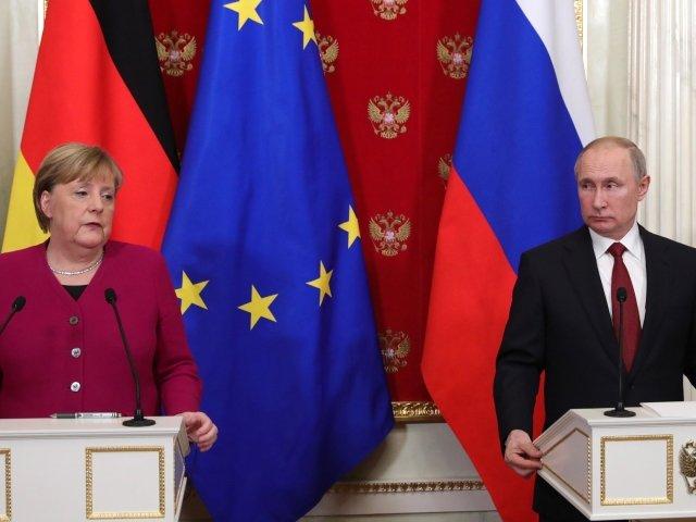 GEP - Merkel - Putin