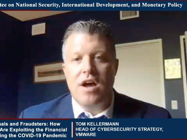 Virtual Testimony of Tom Kellermann