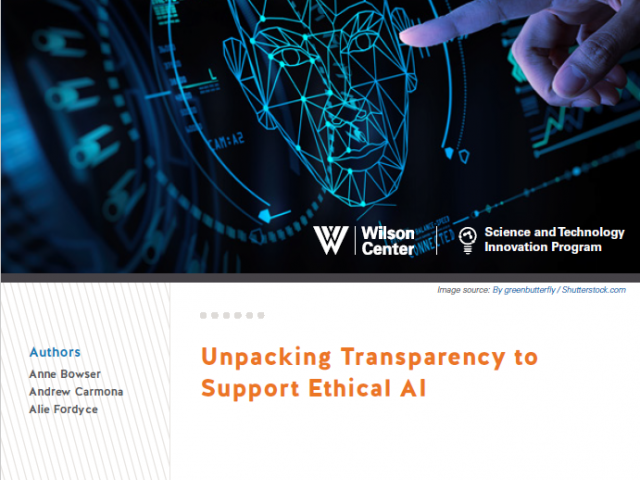 Unpacking Transparency to Support Ethical AI Cover