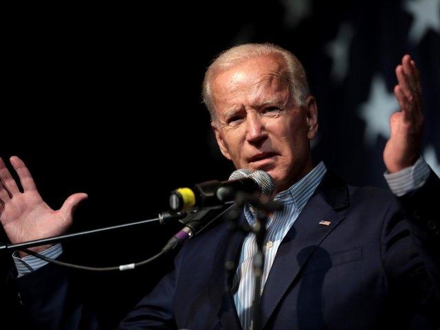 Joe Biden making a speech