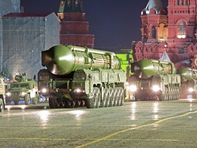Night rehearsal of Victory Day, 2016