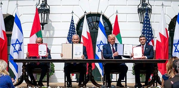 Signing Abraham Accords
