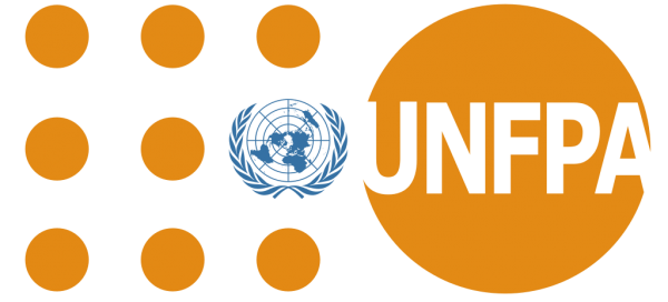Orange UNFPA logo