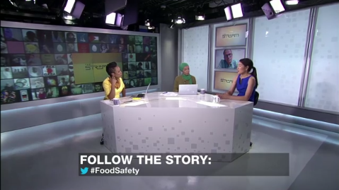 CEF Associate, Susan Chan Shifflett, Interviewed by Al Jazeera English TV on China's Food Safety Challenges