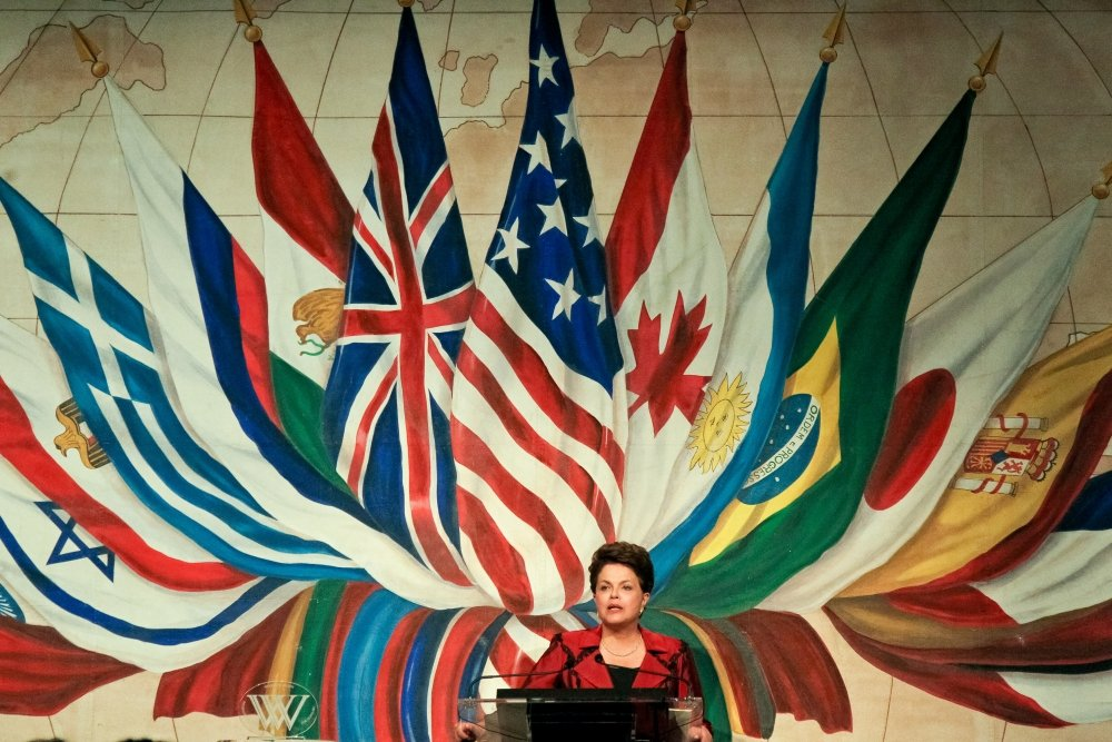 Brazilian President Dilma Rousseff Receives Woodrow Wilson Award for Public Service