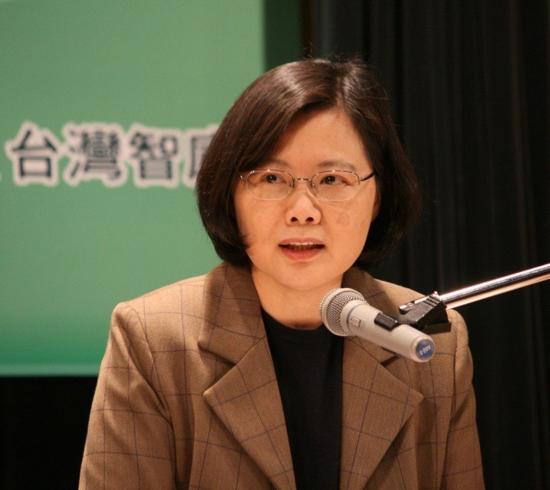 Tsai Ing-wen Becomes Taiwan's First Female President