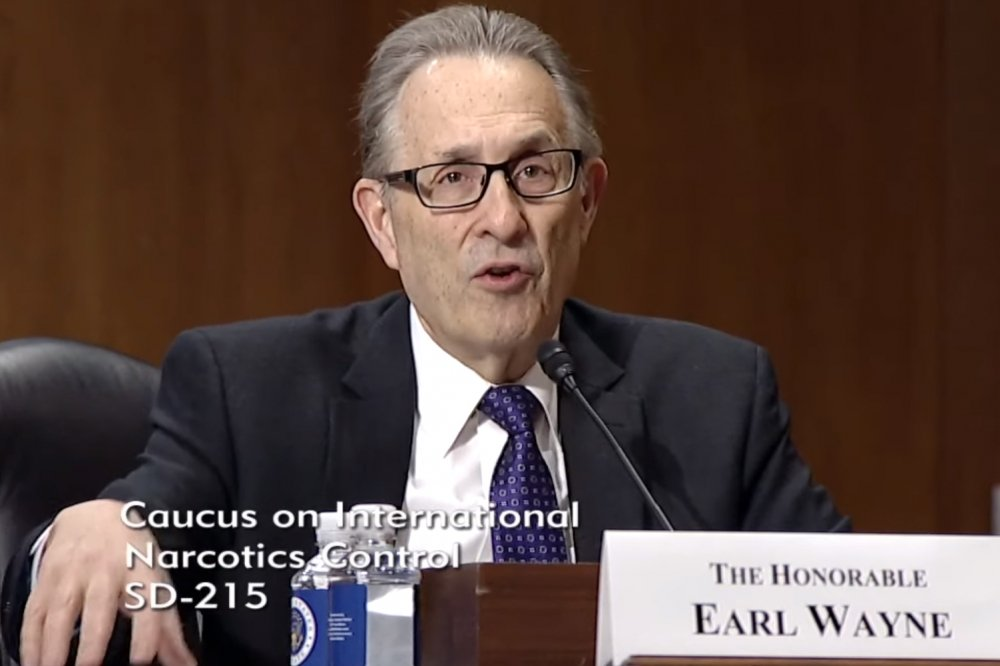 'Countering the Global Narcotics Epidemic – The United States' Counternarcotics Strategy': Earl Anthony Wayne Testifies before the U.S. Senate Caucus on International Narcotics Control