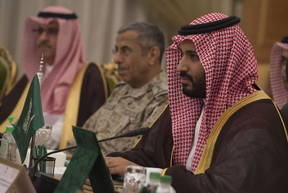 Crown Prince Leads Saudi Purge