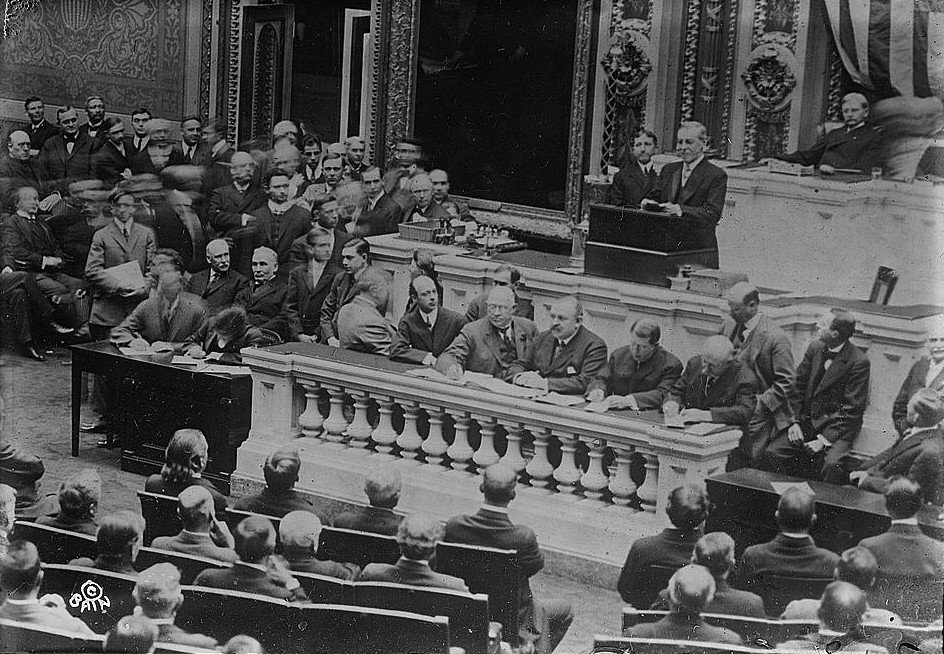 Woodrow Wilson and the State of the Union