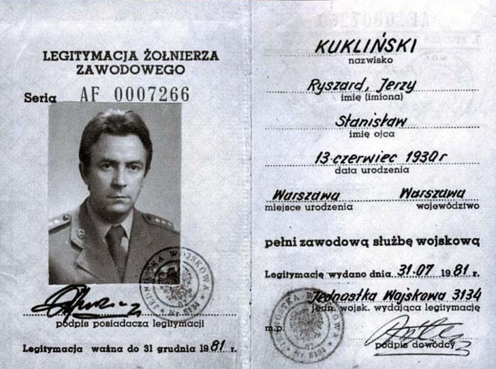Ryszard Kuklinski CIA Documents Available in HAPP Digital Archive