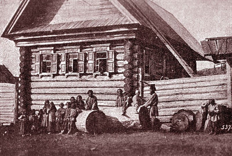 Photograph of a Russian Village in the 1870s by William Carrick