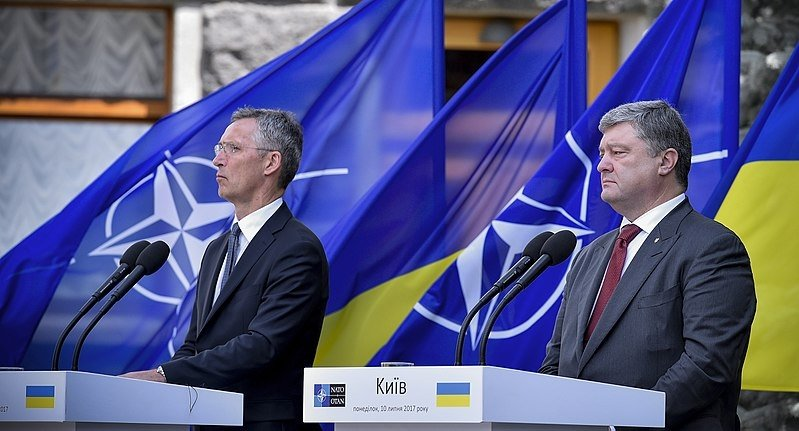 Ukraine – NATO Commission chaired by Petro Poroshenko. Source: The Presidential Administration of Ukraine