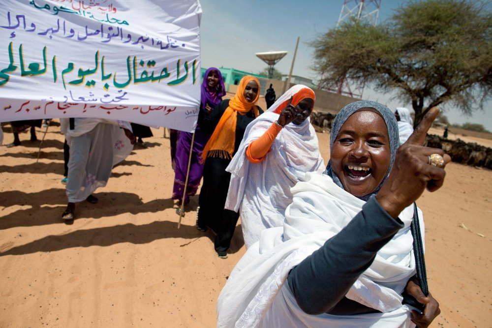 International Women's Day, Sudan