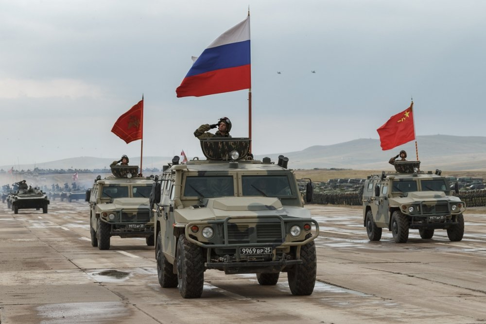 Military Parade on Vostok-2018 Maneuvers. Source: Wikimedia Commons.