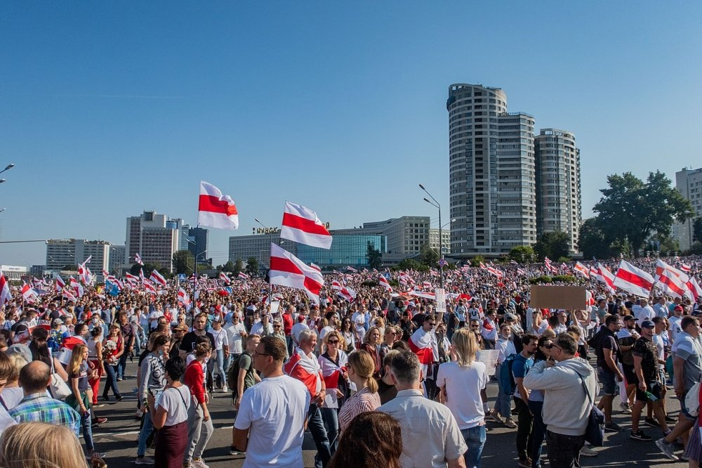 Belarusian protests — Minsk, 23 August - 2020