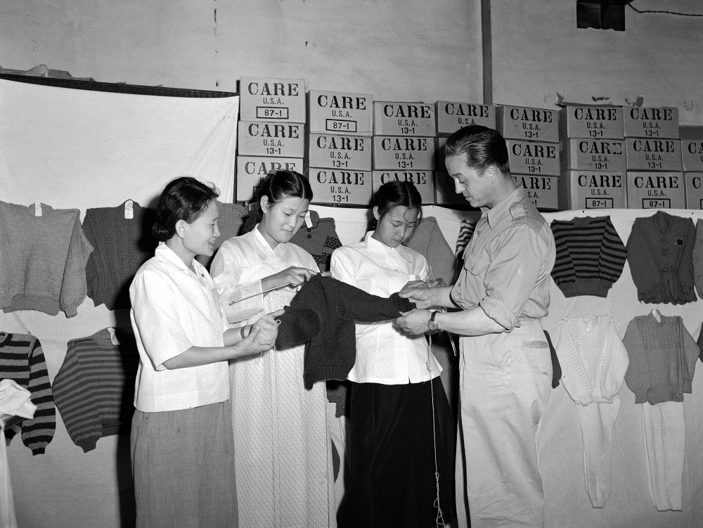 Women's Welfare Group in Korea, 1952