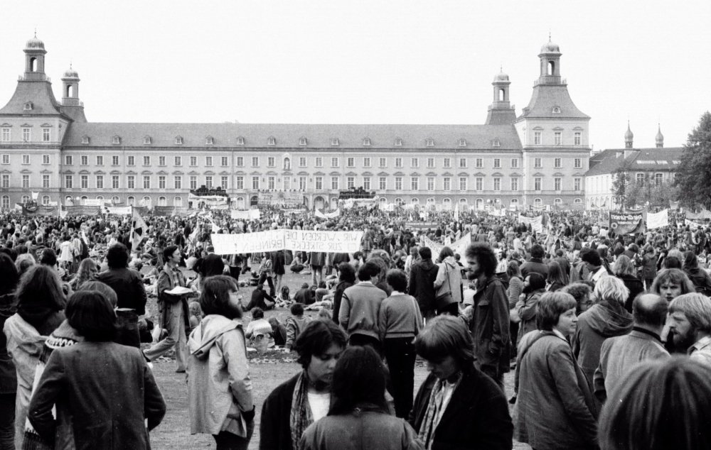 Anti-nuclear protest in Bonn, Germany in 1979