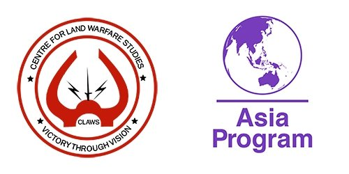The logos for CLAWS and the Asia Program