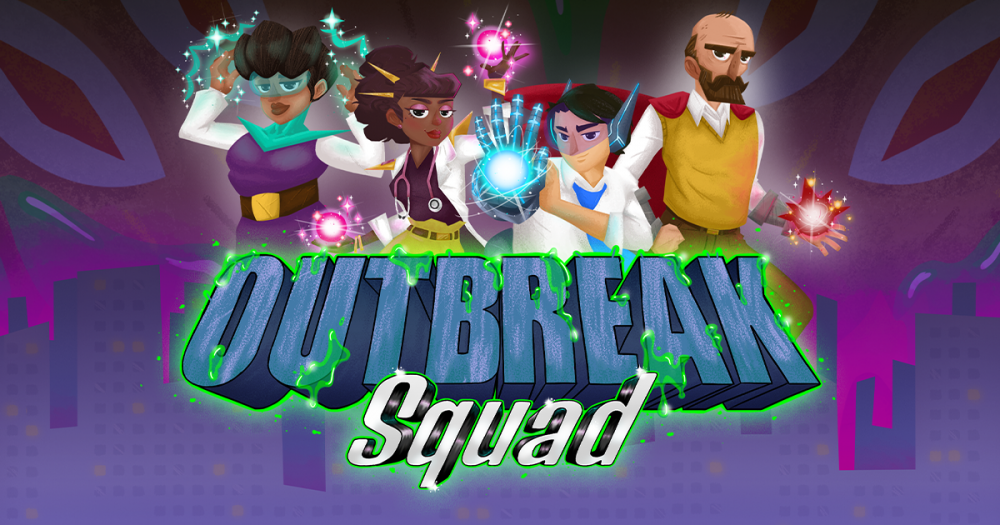 Landscape Image of Characters in Outbreak Squad Game