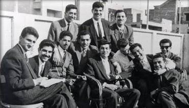 Saddam Hussein and the Ba'ath Party student cell, Cairo, in the period 1959-63
