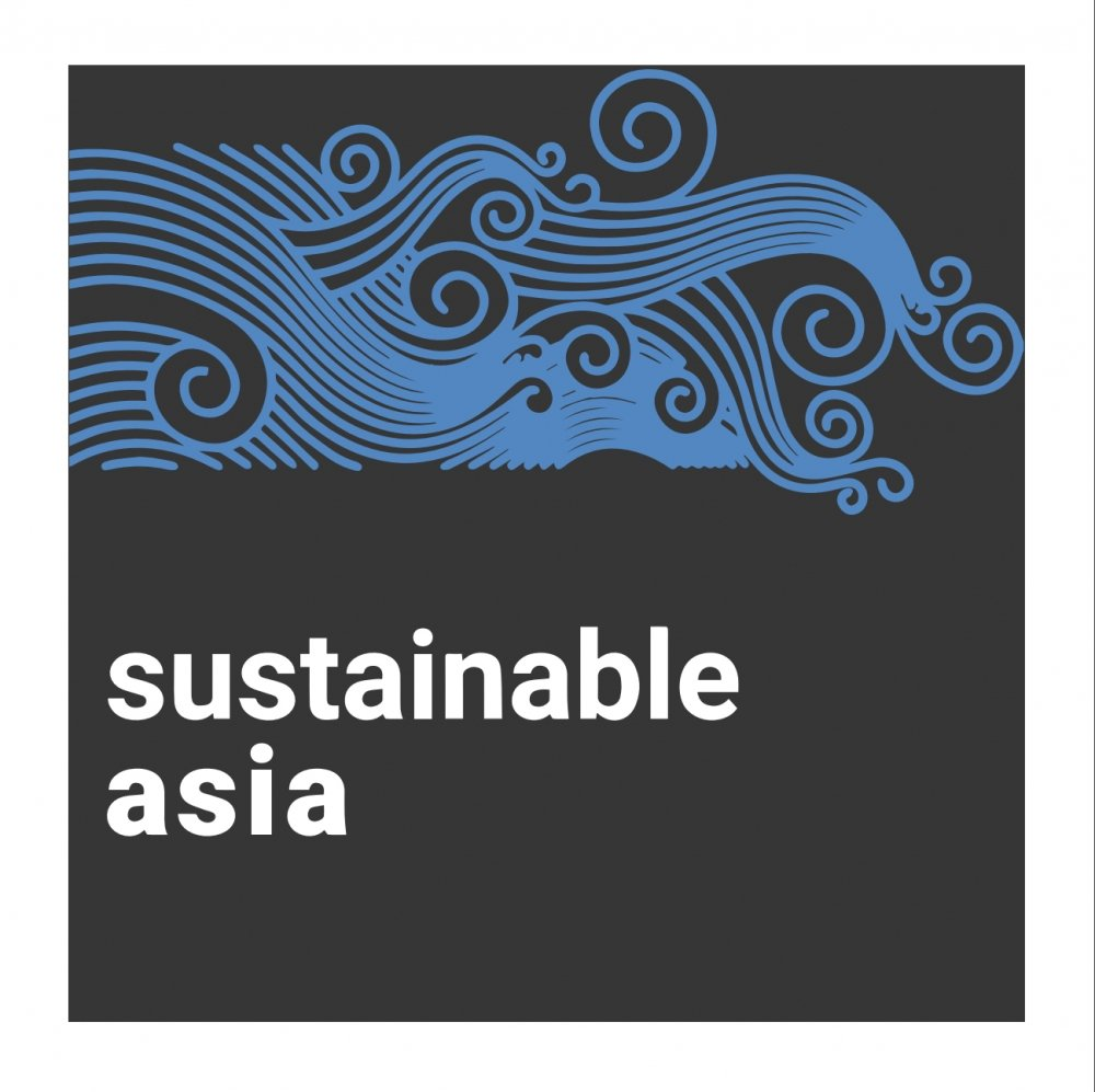 Sustainable Asia podcast logo