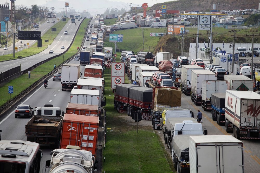 Brazil Truckers' Strike 2012