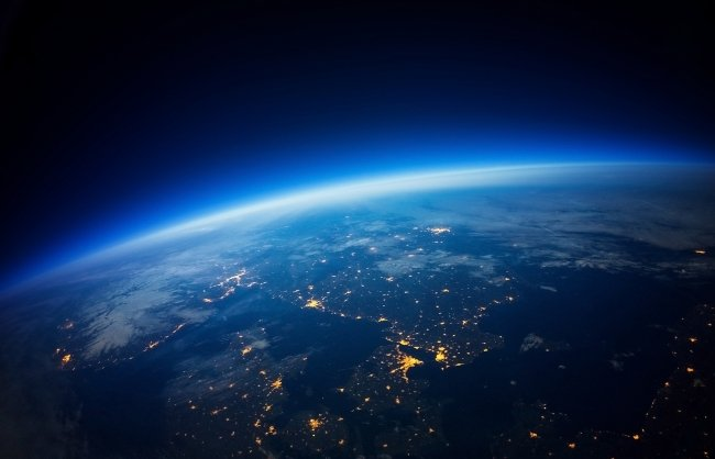Near Space photography - 20km above ground