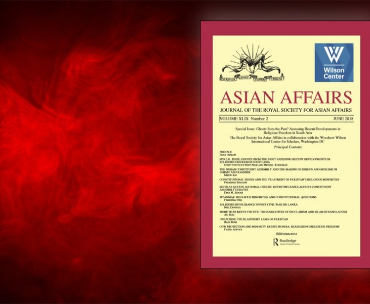 Special Issue of Asian Affairs Addresses Religious Freedom in South Asia