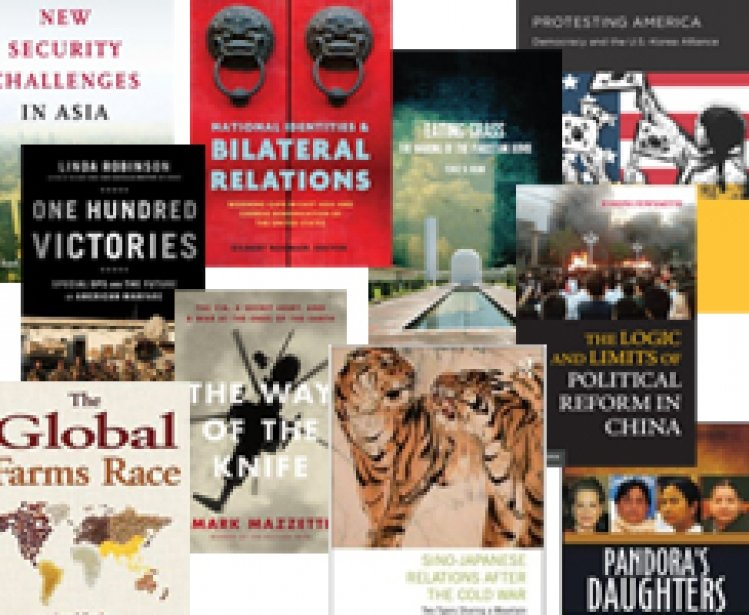 Recent Books by Asia Program Scholars and Staff