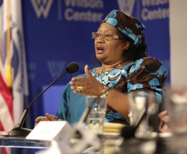 President Joyce Banda Talks About Her Time in Office & Sensitizing African Leaders to Maternal Health Challenges