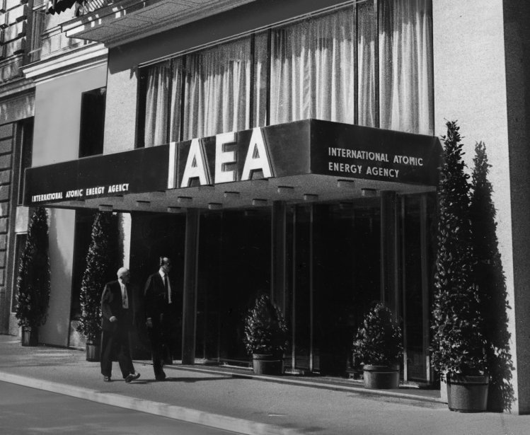Headquarters of the International Atomic Energy Agency (IAEA) in Vienna, Austria. September 1977. Photo Credit: IAEA